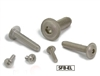 SFB-M8-10-EL NBK Socket Button Head Cap Screws with Flange Made in Japan Pack of 20