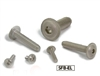 SFB-M8-20-EL NBK Socket Button Head Cap Screws with Flange Made in Japan Pack of 20
