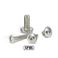 Made in Japan SFBS-M4-6 NBK  Socket Button Head Cap Screws with Flange Pack of 20