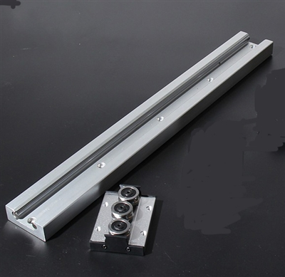 SGR20 6' feet Compact Linear Motion Guide Rail 6 Feet Long + SGB20UU-3 Bearing Block