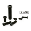 SLH-M3-6-SD NBK  Socket Head Cap Screws with Low & Small Head- Pack of 10-Made in Japan