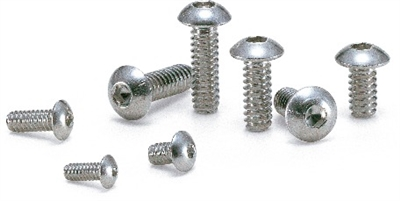 SNBS-#6-32-3/8 NBK Hex Socket Head Cap Screws - Inch Thread- Pack of 10 Made in Japan