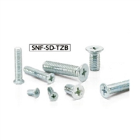 Made in Japan  SNF-M6-12-SD-TZB NBK Cross Recessed Flat Head Machine Screws with Small Head Pack of 20