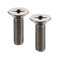 SNFTG-M4-8 NBK Cross Recessed Flat Head Machine Screws - High Intensity Titanium Alloy- Made in Japan