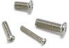 SNZ-M2-2.5-TBZ-NBK 2.5mm Length Pan Head Machine Screws for Precision Instruments