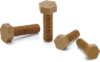SPDC-M4-6-H NBK Plastic Screw - Hex Head Screws - VESPEL(Grade:SCP-5000 ) Pack of 1  Screw -  Made in Japan