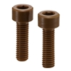 SPDC-M6-12-C NBK Plastic Screw - Socket Head Cap Screws - VESPEL(Grade:SCP-5000) Made in Japan