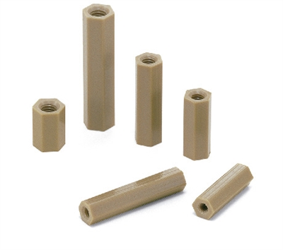 SPE-M3-4-HB NBK Plastic screw Hex Posts made in Japan
