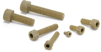 SPE-M3-6-C  NBK Plastic Screw – Socket Head Cap Screws – PEEK  Pack of 20 Screws -  Made in Japan