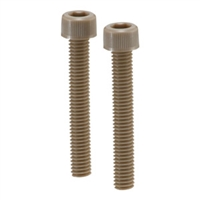 SPE-M4-50-C-FT NBK Plastic Screw - Socket Head Cap Screws - Full Thread - PEEK