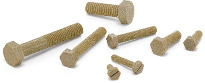 SPE-M5-15-H 15mm Plastic Hex Head PEEK Screws - Pack of 10