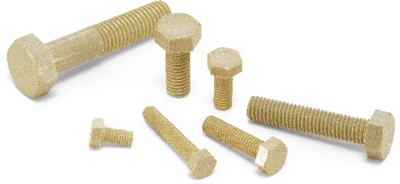 SPS-M10-30-H NBK Plastic Screw - Hex Head Screws - PPS   Pack of One Screw  -  Made in Japan