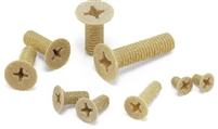 SPS-M6-10-F NBK Plastic Screw - Cross Recessed Pan Head Machine Screws - PPS   Pack of 10 Screws -  Made in Japan
