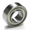 "SR166ZZEE Extended Stainless Steel Miniature Bearing 3/16""x3/8""x1/8"" inch"
