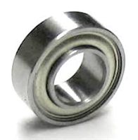 "SR166ZZEE Extended Stainless Miniature Bearing 3/16""x3/8""x1/8"" inch"