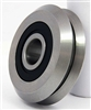 "SRM2-2RS 3/8"" V-Groove Guide Bearing Sealed"