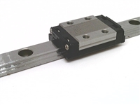 100-THK made in Japan 9mm Stainless Steel Linear Guideway System 195mm Long with one carriage Truck