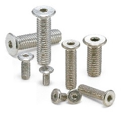 SSH-M2-8-EL 8mm M2 Socket Head Cap Screws - Special Low Profile - Pack of 10