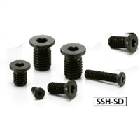 SSH-M3-12-SD-NBK Socket Head Cap Screws with Extreme Low & Small Head- Pack of 10-Made in Japan