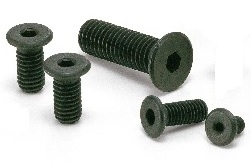 M6 Socket Head Cap Screws with Special Low Profile SSH-M6-10 10mm Pack of 10