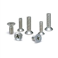 Made in Japan  SVFS-M2.6-4 NBK Cross Recessed Flat Head Machine Screws with Ventilation Hole Pack of 10