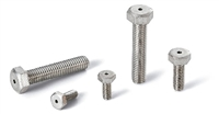 SVHS-M4-8 NBK  Hexagon Head Bolts with Ventilation Hole- 10 screws
