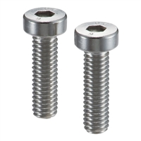 Lot of 10 SVLS-M6-10-NBK  Socket Head Cap Screws with Ventilation Hole with Low Profile M6 length 10mm