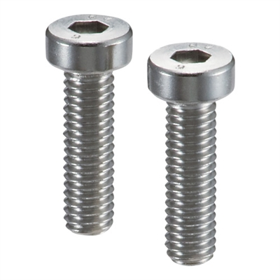 Lot of 10 SVLS-M8-16-NBK  Socket Head Cap Screws with Ventilation Hole with Low Profile M8 length 16mm