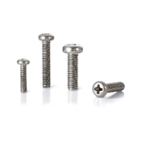 SVPT-M4-6 NBK Phillips Cross Recessed Pan Head Titanium Machine Screws with Ventilation Hole Pack of 10