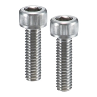 Lot of 10 SVSL-M5-8-NBK  Socket Head Cap Screws with Ventilation Hole - SUS316L M5 length 8mm