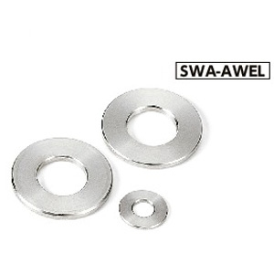 SWA-6-12-1-AWEL NBK Adjust Metal Washer - Steel - Electroless Nickel Plating Made in Japan