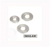 SWAS-4-8-1.5-AW NBK Stainless Steel Adjust Metal Washer -Made in Japan-Pack of 10