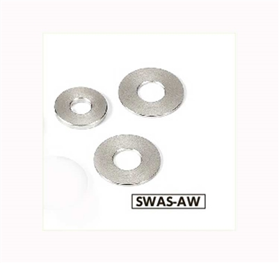 SWAS-6-12-2-AW NBK Stainless Steel Adjust Metal Washer -Made in Japan-Pack of 10
