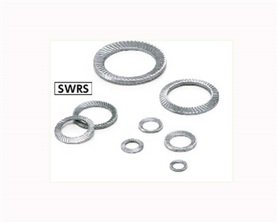 SWRS-6 NBK Ribbed Lock Washers - Steel  NBK Lock Washers  Pack of 10 Washer Made in Japan