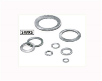 SWRS-8 NBK Ribbed Lock Washers - Steel  NBK Lock Washers  Pack of 10 Washer Made in Japan