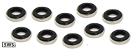 SWS-6-E NBK Japan Seal Washer  - Pack of 10