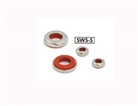 SWS-8-S NBK Seal washer - Rubber Packing Silicone rubber  NBK  Washers  Pack of 5 Washers Made in Japan