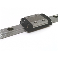 THK made in Japan 9mm Stainless Steel Linear Guideway System 210mm Long with one carriage Truck