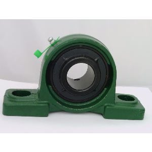 "2 1/4"" Bearing UCP212-36 Black oxide Plated Insert + Pillow Block Cast Housing Mounted Bearings"