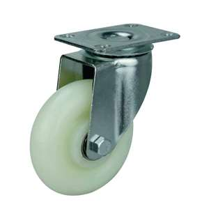 "3"" Inch Caster Wheel 176 pounds Swivel Polypropylene Top Plate"
