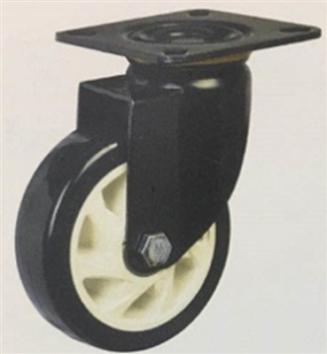 "3"" Inch Caster Wheel 441 pounds Swivel Polyurethane  and  Polypropylene Top Plate"