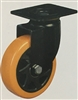 "6"" Inch Caster Wheel 772 pounds Swivel Polyurethane  and  Polypropylene Top Plate"