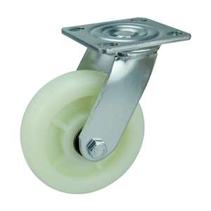 "5"" Inch Caster Wheel 1543 pounds Swivel Polypropylene Top Plate"