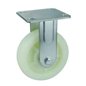 "5"" Inch Caster Wheel 1543 pounds Fixed Polypropylene Top Plate"