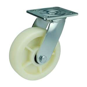 "6"" Inch Caster Wheel 661 pounds Swivel co-polypropylene Top Plate"