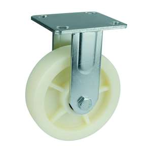 "8"" Inch Caster Wheel 772 pounds Fixed co-polypropylene Top Plate"