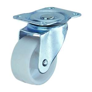 40mm Caster Wheel 44 pounds  Plastic Top Plate
