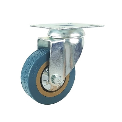 "2"" Inch Caster Wheel 44 pounds Swivel Polyvinyl Chloride Top Plate"
