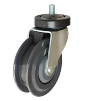"5"" Inch Caster Wheel 220 pounds Swivel Polyurethane"