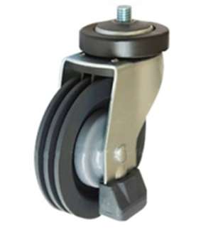 "5"" Inch Caster Wheel 243 pounds Swivel Polyurethane"